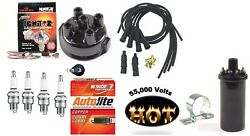 Electronic Ignition Kit And Hot Coil Allis Chalmers B, C, Ca Tractor Delco Dist