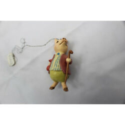 Pigling Bland F Warne Anri Hand Painted Figure Ornament 1980 Rare
