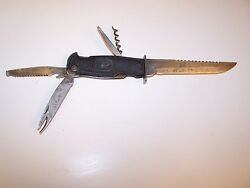 Wwi-wwii Vintage Solingen Germany Multi-purpose Fixed-blade Knife