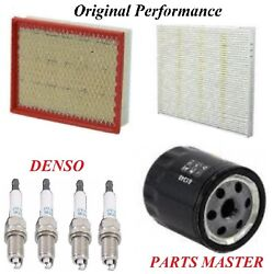 Tune Up Kit Air Cabin Oil Filters Spark Plugs For FORD FUSION L4 2.0L;Turbo 2016