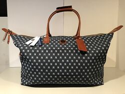 DOONEY & BOURKE MLB New York Yankees Duffle Bag Sold Out Limited Edition NEW!
