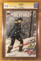 Revival 1, Third Eye Cover, Cgc 9.8 Ss, Signed By Tim Seeley, Graded Nm/mt