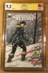 Revival 1, Third Eye Cover, Cgc 9.2 Ss, Tim Seeley, Graded Nm-