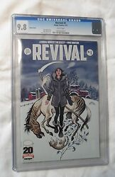 Revival 1 110 Variant Cover, Cgc 9.8 Graded Nm/mt