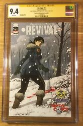 Revival 1, Third Eye Cover, Cgc 9.4 2x Ss, Tim Seeley And Mike Norton, Graded Nm