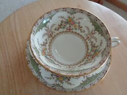 Rare Chatham Minton S123 Jeweled Cup And Saucer Set