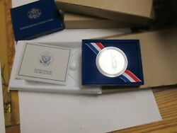 1986-p , Us Liberty Silver Dollar Coin , New In Box , Lot Of 3