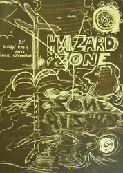 Bjorn Roth Omar Stefansson / Hazard Zone Signed Limited Edition 1st Ed 1985