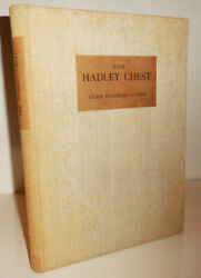 Clair Franklin Early American Furniture Luther / Hadley Chest First Edition 1935