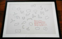 Art Tuttle Richard / Betty Parsons Gallery Poster 1967 First Edition