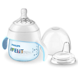 Philips Avent My Natural Trainer Sippy Cup Blue 5 Oz Scf262/01