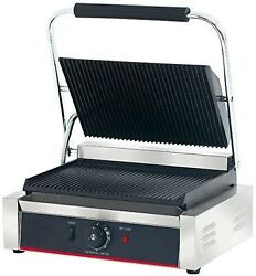 Hakka Commercial Panini Press Grill and Sandwich Griddles&Contact Grill