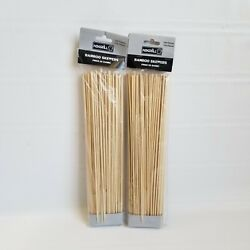 Nexgril 2- Pack Of 100 Piece 12 Bamboo Skewers