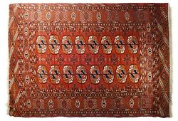 Antique Turkmen Tekke Rug 5and0393 X 3and03910