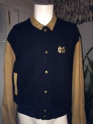 Notre Dame Leather Jacket By Utopia Size Xl