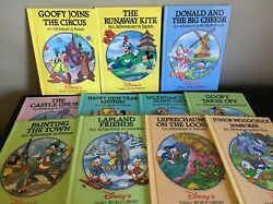Disney Small World Library Lot of 10 + Grolier Russia Japan Ireland Sweden USA