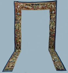 A Spectacular Antique Tapestry Valance