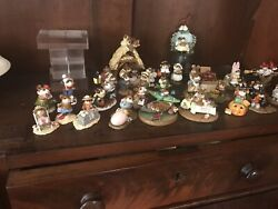 Wee Forest Folk Lot 29 Figures Christmas Nativity Easter Halloween Summer