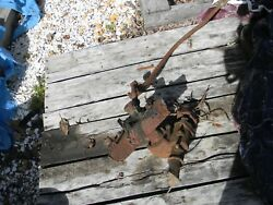 1930 1931 Willys Steering Box,pitman Arm And Draglink