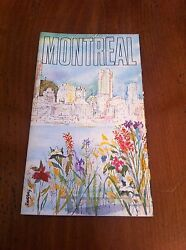 1972 Montreal Canada Public Relations Department Brochure Man And His World More