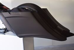 Harley Stretched Extended Saddle Bags And Rear Fender Long Tail Fits 14-18 7 And 14
