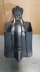 Harley Davidson Stretched Saddlebags And Rear Fender Bags 2014-18 Touring Bagger