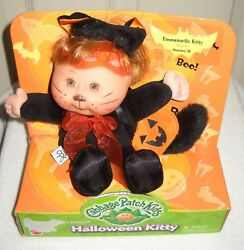 #9918 Target Stores Cabbage Patch Kids Halloween Kitty Emmanuelle Kitty Oct 31