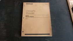 1984 Caterpillar 3412 Marine Engine Owners Manual, 180 Pages