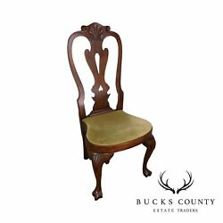 Kittinger Cw 146 Mahogany Queen Anne Side Chair