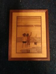 Nelson Hudson River Inlay Marquetry