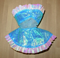 Barbie (Pink Lable) Short Blue Doll Dress Only Fits: Fashion Royalty/Silkstone