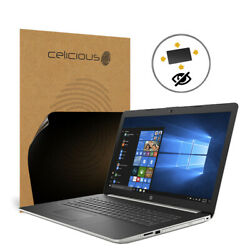 Celicious Privacy Plus HP Notebook 17 BY0019NA [360°] Anti-Spy Screen Protector