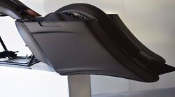 Harley Stretched Extended Saddle Bags And Rear Fender Long Tail 2014-2017 Bagger
