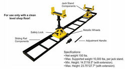 Tractor Splitting Stand With Rails And 2 Stands 10000 Lbs