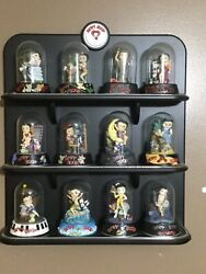 Betty Boop Figurines And Display Collector Stand