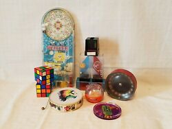 Vintage Toys Brain Teasers And Cubes - Mixed Lot Of 11 - Final Listing