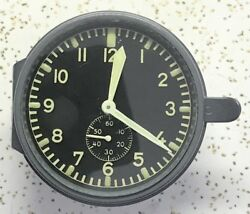 German Junghans J30e Officers Or Duty Room Aircraft Clock