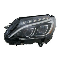 New Left Headlight Assembly For 2015-2017 Mercedes-benz C250 Mb2502226