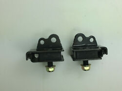 New One Pair Grizzly Yfm660 Engine Mount Damper Rubber 1 For Yamaha 2002-2008