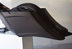 Harley Stretched Extended Saddle Bags And Rear Fender Long Tail 2014-2017