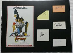 Fast Times At Ridgemont High Signed Auto Matted Piece 5 Sigs Psa/dna Ag03166