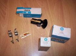NOS MOPAR DUAL POINT DISTRIBUTOR RACING POINT CONTACTS & ROTOR