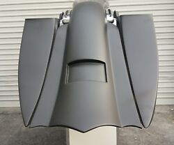 Harley Davidson Tourings 2014-up 7 And 14 Stretched Saddlebags And Rear Fender