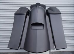 Harley Davidson Stretched Saddlebags And Rear Fender For 2009-2013 Touring Baggers