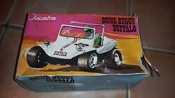 Car Dune Buggy Buffalo Joustra Metal / In Box / Vintage Toy Old