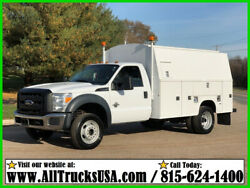 2012 Ford F450 REGULAR CAB  6.7 DIESEL 11' ENCLOSED BED SERVICE UTILITY TRUCK