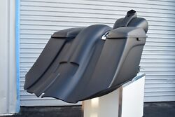 Harley Davidson 7 Stretched Saddlebags And Rear Fender 2009-13 Touring Baggers