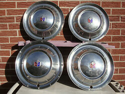 1954 Plymouth Hubcaps 15 Set Of 4 Wheel Covers 54 Hubcaps Cool