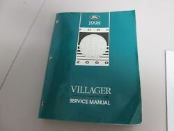 1998 Mercury Villager Van Shop Service Repair Book Manual
