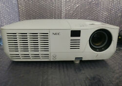 NEC NP V260 DLP Projector W 72% LAMP LIFE LEFT W VGA amp; POWER CABLES